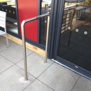 metal security barriers  bollard fabricators glw engineering